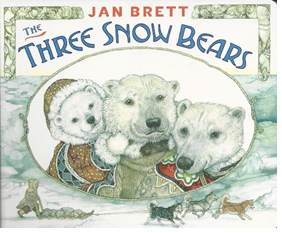 The Three Snow Bears book cover