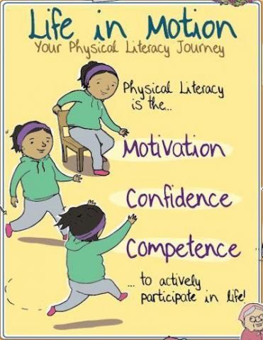 Reading, writing and running: it's all literacy