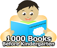 We have a new program!  1000 Books Before Kindergarten