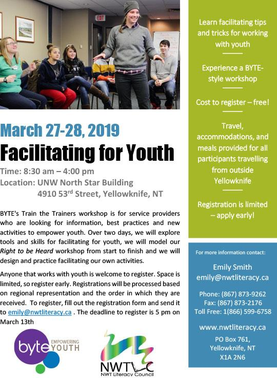 Facilitating for Youth Workshop