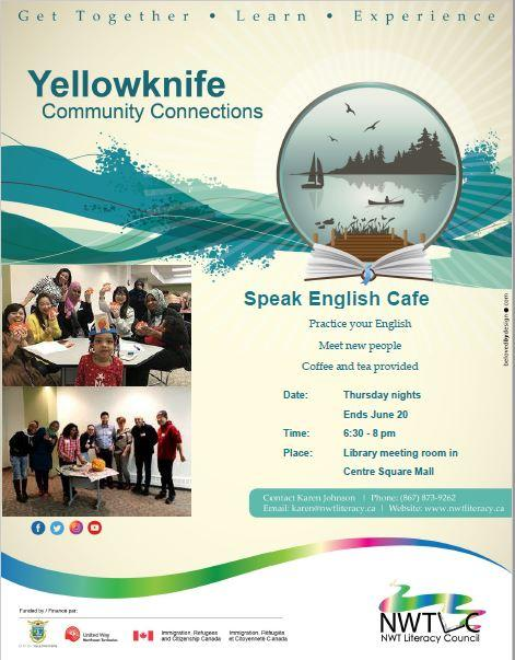 Speak English Cafe - June 6, 13, 20