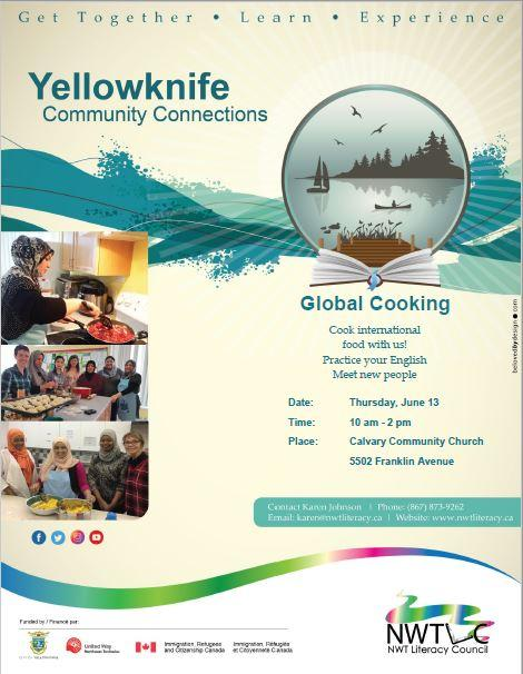 Global Cooking - June 13