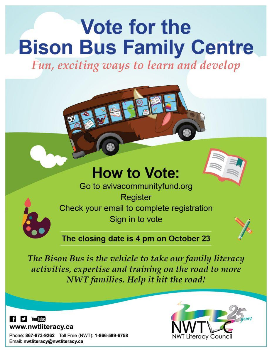 Vote for the Bison Bus!