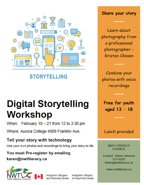 Digital Storytelling Workshop, February 19-21