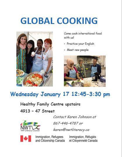 Global Cooking - January 17