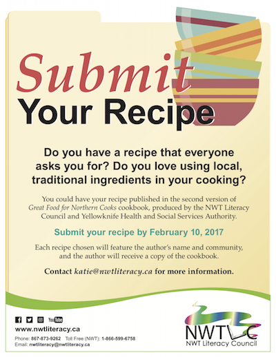 We Want Your Favourite Recipes For a New Cookbook