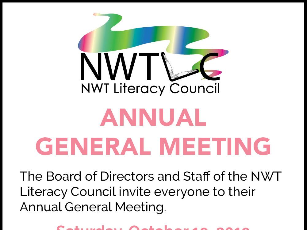 NWT Literacy Council Annual General Meeting